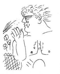 Luis Mizon, dessins Alecos Fassianos Le-Soudeur de Murmures Editions Folle-Avoine 2017