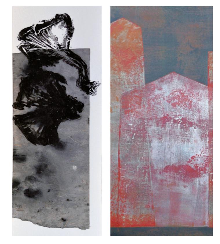 Marie Thamin et Ysabel-Mavit exposition à la galerie Audrey Marty a St-Malo