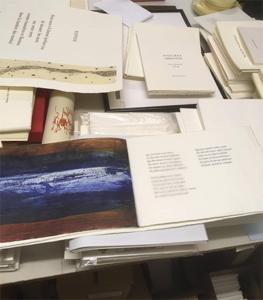 Yves Prié, le créateur des éditions Folle Avoine à la Galerie 18h15, 33 Bd de la Liberté Rennes du 29/11 au 22/12/2018